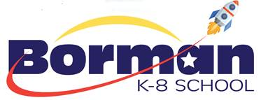 Borman K-8 School Logo